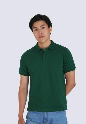 DENIZEN green Denizen Men's Basic Polo 84701AA88D8005GS_1