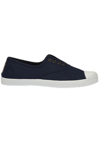 paperplanes navy Paperplanes-1351 Casual Low Top Flats Canvas Sneakers Shoes US Women Size PA355SH81PNISG_1