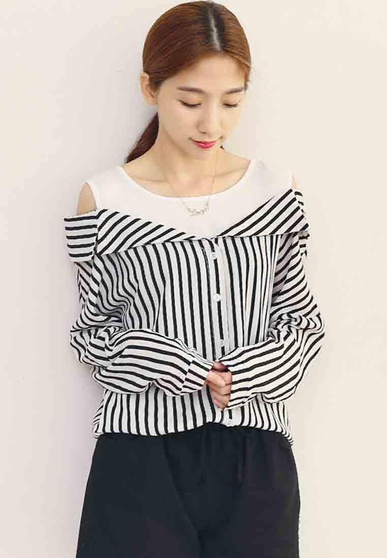 Sassy Stripes 2-in-1 Top