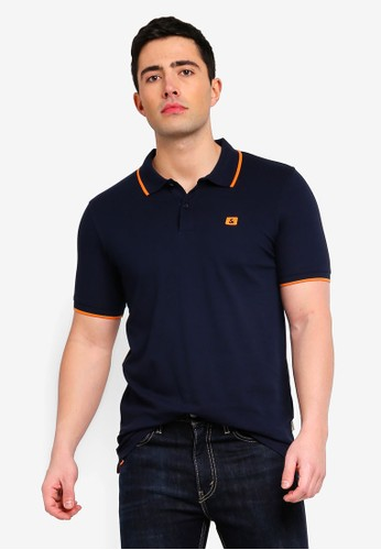 Jack & Jones navy Jjestone Slim Fit Polo Shirt 47D2EAA1C524A2GS_1