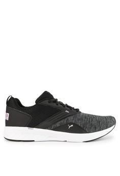 067c257809df PUMA black and multi Run Train NRGY Comet Shoes 9EC60SH1699C01GS 1