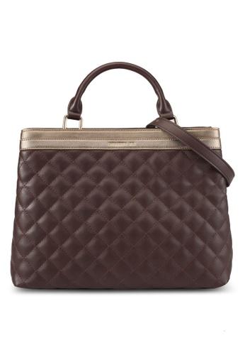Christy Ng brown Anne Jude Dark Brown Handbag CH330AC0S7IGMY_1