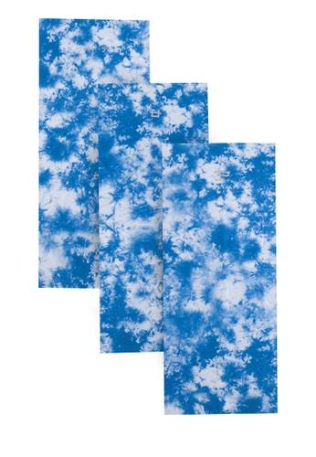 Third Day blue Masker Buff 5-In-1 Tie Dye Blue Thidday Satu Set Isi 3Pcs 940A9ES9B3767DGS_1