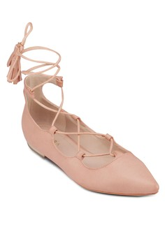Lace Up Ballerinas