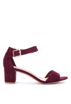 S&H purple Riano Heeled Sandals 8327CSH5AF189AGS_1