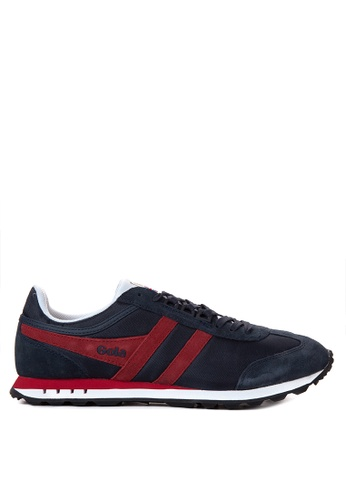 Gola red and navy Boston Sneakers GO513SH16TRZPH_1