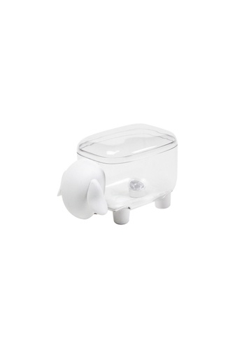 Qualy Qualy Sheepshape Container Jr. (Clear and White) E2719HLFDC5028GS_1