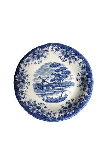 Claytan 185B Windmill Blue-Dinner Plate BA1E7HL5EB1709GS_1