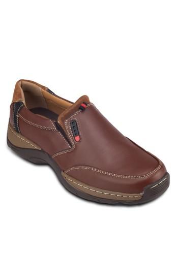 圓頭仿皮摩卡辛鞋, 鞋,esprit taiwan 鞋