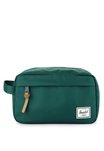 Herschel green Chapter Travel Kit FCD9AAC033D30EGS_1