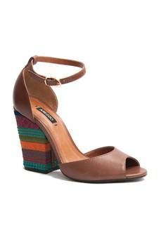 Arezzo Trey Heeled Sandals