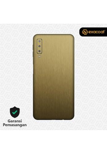 Exacoat Galaxy A7 (2018) 3M Skins Titanium Gold - Cut Only 11F26ES0CC10E5GS_1