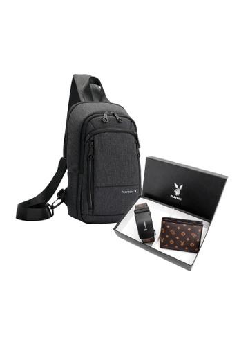 Playboy brown Playboy Gift Set Box 95EBFAC96E237AGS_1