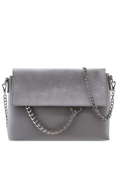 d23be1ebb Dorothy Perkins grey Grey Chain Ring Clutch Bag 64C94AC0A32982GS_1
