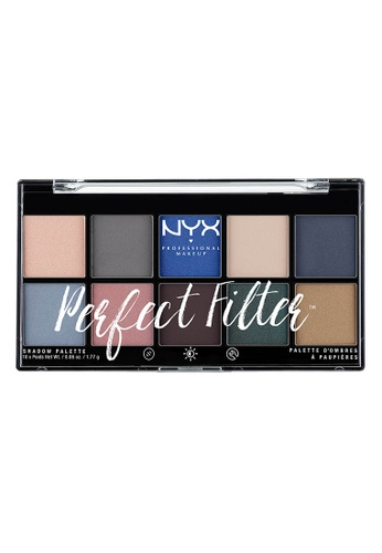 NYX Professional Makeup multi NYX Professional Makeup Perfect Filter Shadow Palette- MARINE LAYER E41F6BEB93BD6CGS_1