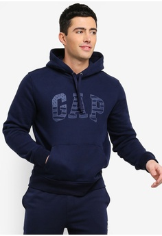 6595c0fdc42 GAP navy Americana Logo Hoodie F7AFAAA5ECB5C6GS 1