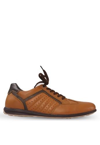 Tony Perotti brown Tony Perotti Sneakers Alfie - Brown TO890SH0VNFRID_1