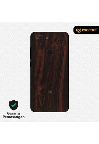 Exacoat Xiaomi Mi 8 Lite 3M Skins Wood Mahogany - Cut Only 62447ES03F7DDDGS_1