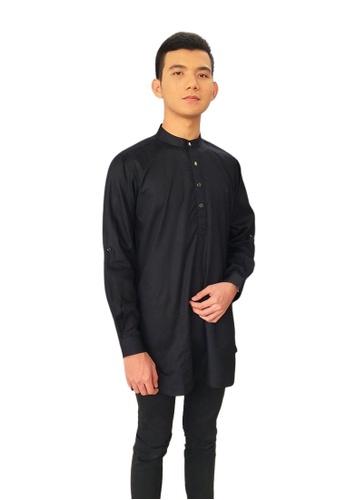 Denai Boutique black Kurta Hadee 0525AAA9F4680EGS_1
