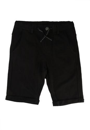 FOX Kids & Baby black Turnover Shorts 09BC1KA2B74B02GS_1