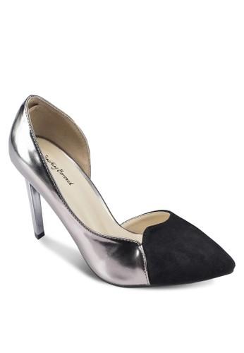 側鏤空尖頭高跟esprit outlet 桃園鞋, 女鞋, 鞋
