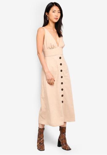 Bardot brown Shelby Dress 2A446AAB97630AGS_1