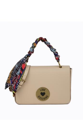 Moschino beige Shoulder Bag 7589EAC0083AE5GS_1
