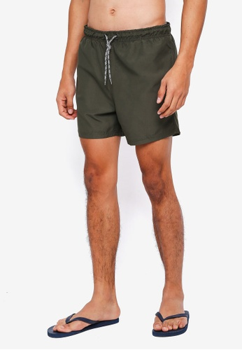 threads by the produce 綠色 Swim Shorts 9DFF2AA720E5DDGS_1