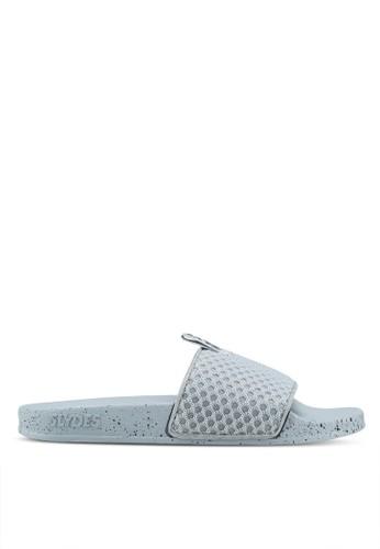 Slydes grey Cruz Sandals 71797SH17A2269GS_1
