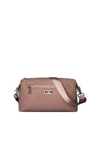 Pierre Cardin pink Pierre Cardin Premium Medium Crossbody Bag 742B1AC18B7E3AGS_1