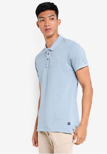 Jack & Jones 藍色 短袖POLO衫 63F92AA8B6B888GS_1