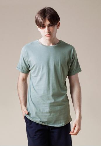 Life8 grey Casual Cooling Cotton Short-Sleeved Tee T-Shirt-03860-Grey LI283AA0FFP3SG_1