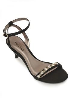 Leather Round Heels
