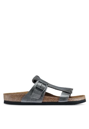 949c964b46c Shop Birkenstock Maddie Metallic Leather Sandals Online on ZALORA  Philippines