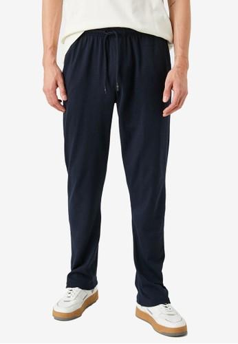 KOTON blue Basic Sweatpants BDFBDAAB206C0CGS_1