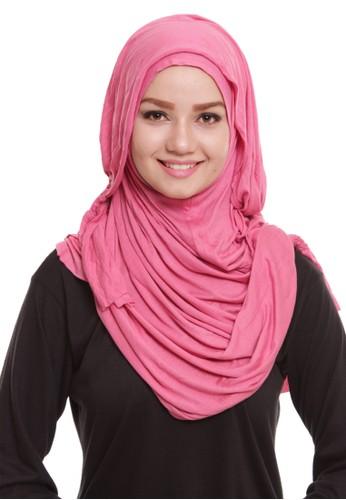 Mybamus Tassel Plain Instant Veil Pink