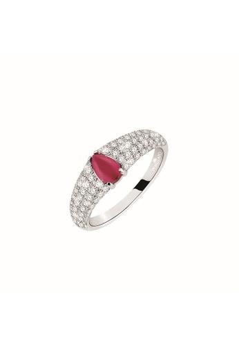 Morellato silver Morellato Tesori Stering Silver 925 Zircons Ladies Ring SAIW42016 A4675AC0C64511GS_1