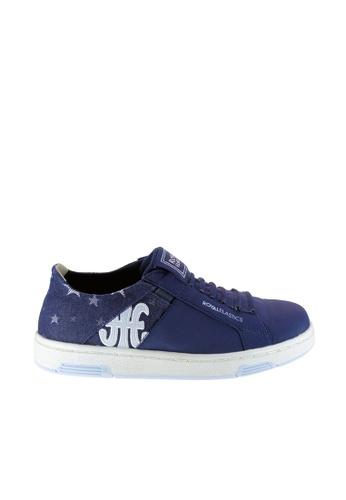 Royal Elastics 藍色 Icon Washed 休閒鞋 RO796SH09SMNTW_1