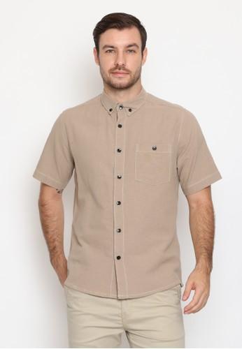 17seven Original beige 17SEVEN Shortshirt 0033-BRAND F9C8FAA4A9D6EEGS_1