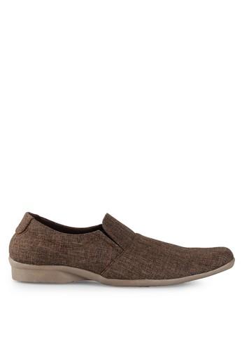 Dr. Kevin brown Loafers, Moccasins & Boat Shoes 13286 Coklat Denim DR982SH0UO2DID_1