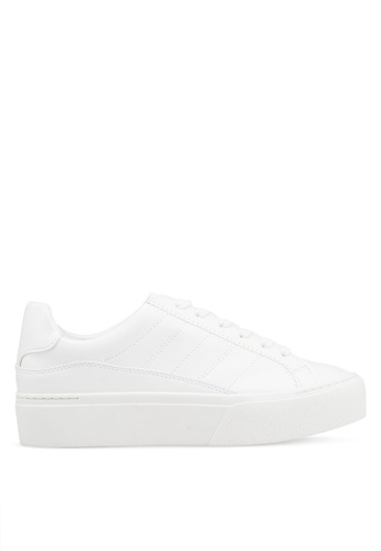 Mango 白色 厚底運動鞋 B62F2SH3A77879GS_1