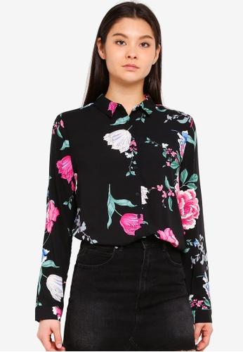 Cotton On black Rebecca Shirt 6AFCDAACC7DA77GS_1