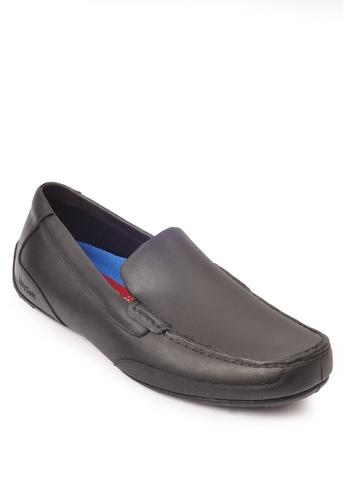 Easy Soft By World Balance black Nevada Loafers DA8A6SHA89D46EGS_1