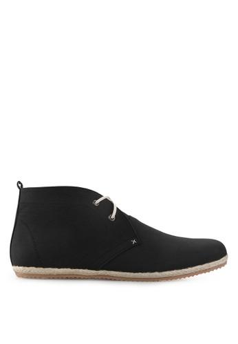 Minarno black Black Faux Leather Boots MI641SH46ZARID_1