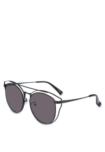 BLANC & ECLARE black Florence Sunglasses A7F9EGL1AD8117GS_1