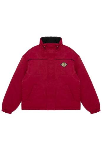 Mini cream red Reversible logo jacket 1A4D4AA461B1F7GS_1