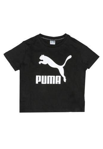 PUMA black Glitter Classics Tee 00C24KA1FD1B52GS_1