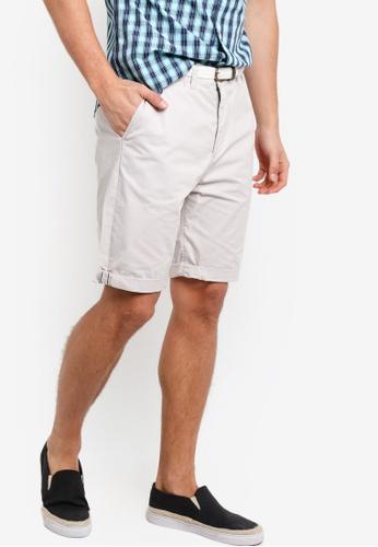 ESPRIT beige Woven Regular Shorts ES374AA36PYDMY_1