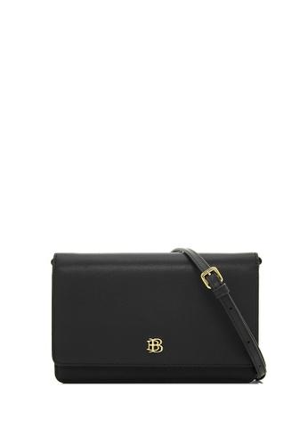 BONIA black Black Bikki Wallet Sling I BF23DAC42694F0GS_1