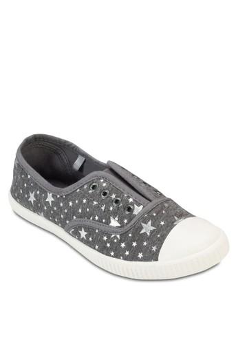 Pacific 印花esprit香港分店休閒鞋, 女鞋, 鞋